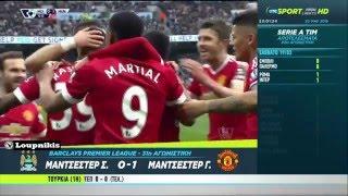 Μάντσεστερ Σίτι - Μάντσεστερ Γιουνάιτεντ 0-1