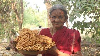 Traditional Snack Item with Rice Flour (జంతికలు)  by My Grandma || Myna Street Food || Food Info