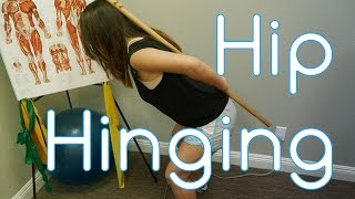 Exercise For Back Pain Relief and Knee Strengthening | Hip Hinging | Elite Core
