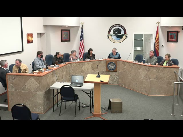 Cottonwood Council Regular Meeting May 4 2021 - Return from Executive Session