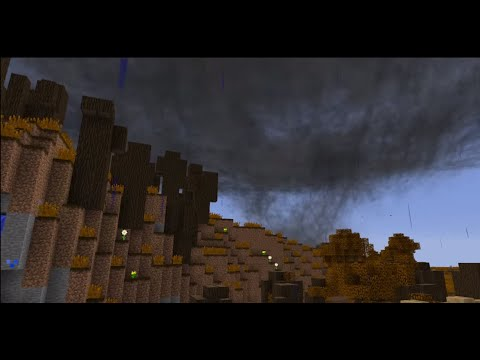 Minecraft Tornado Survival ~ Season 2, Episode 20 (So lets contin... oh crap!)