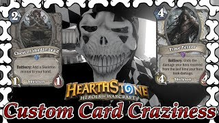 Custom Card Craziness #7 Skeletons