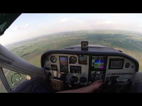 Coupled approach with Avidyne IFD550 in a Cardinal RG