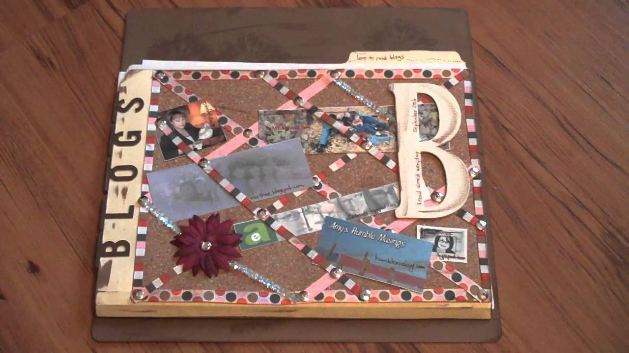 Scrapbook ideas recycled - Scrapbooking Ideas How To Use File Folders On Your Scrapbook Layouts Youtube