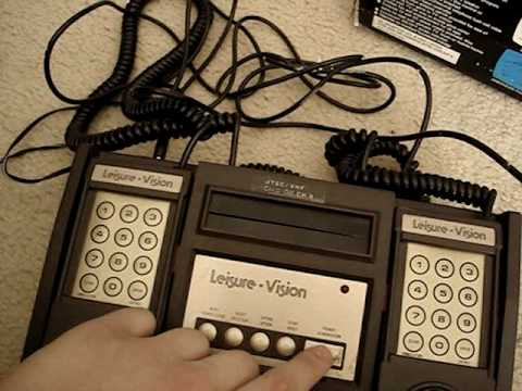 Leisure Vision Game System