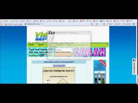 tutorial como convertir videos de youtube en mp3 - descargar mp3 de youtube