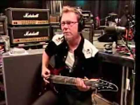 Metallica - Kirk Hammett Tough Riff