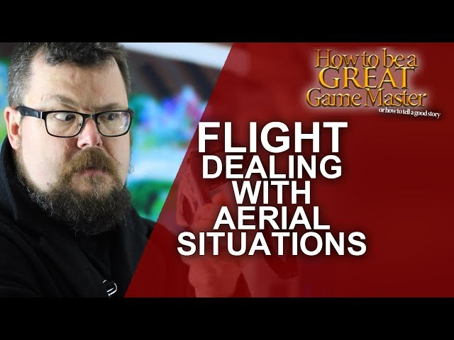 How to handle Flight in a RPG - Game Master Tips