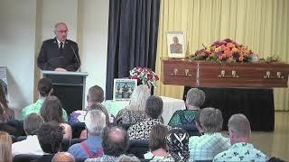 Andrew 'greedy' Smith's Funeral Service