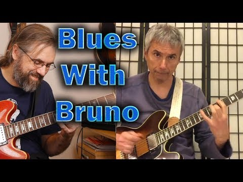 Blues With Bruno Pelletier-Bacquaert