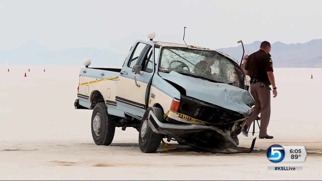 Ksl Com Cars >> Fatal accident occurs on the Bonneville Salt Flats during 'Speed Week' - YouTube