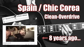 【TAB】Spain / Chick Corea | Guitar Solo