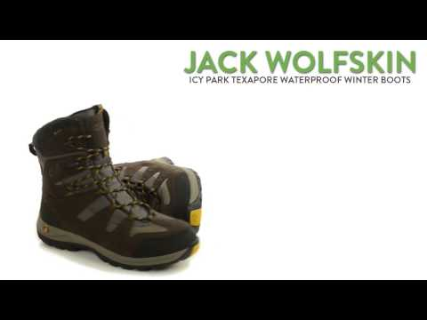 Jack Wolfskin Icy Park Texapore Snow Boots - Waterproof (For Men)
