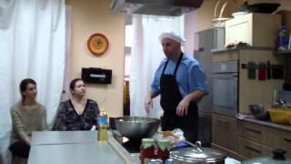 Сатья дас - Кулинарный мастер-класс. Москва 3.12.2014