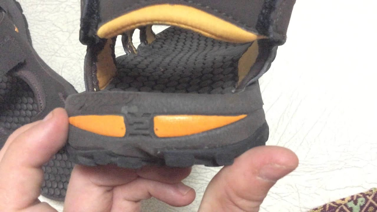 The North Face Hedgehog Sandal (Close up Review)