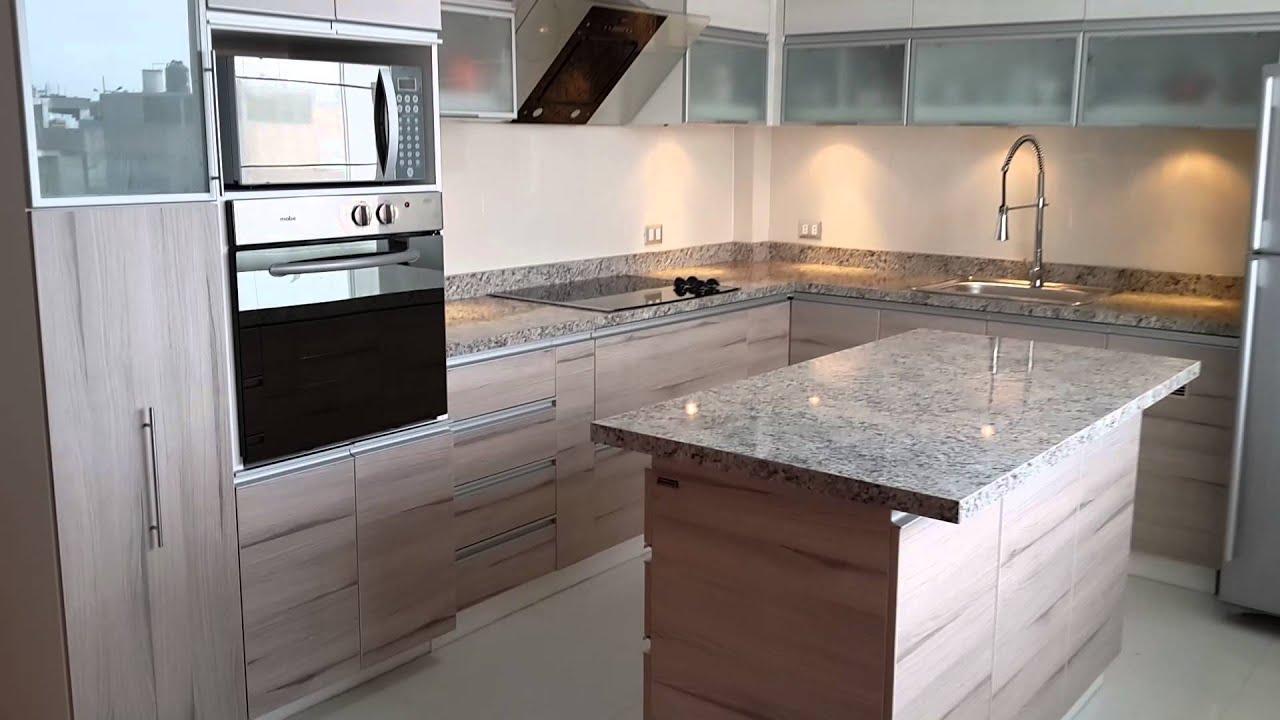 Muebles de cocinas en melaminicos form sac lima per for Modelos de muebles de cocina modernos