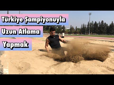 Türkiye Şampiyonuyla Uzun Atlama Yaptım