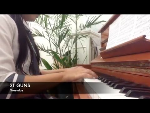 21 GUNS by Greenday (Piano Cover) + SHEET MUSIC