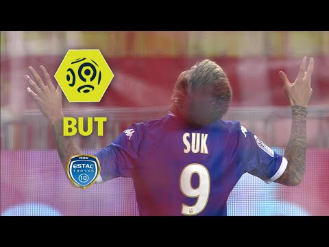 But Hyunjun SUK (50') / AS Monaco - ESTAC Troyes (3-2)  / 2017-18