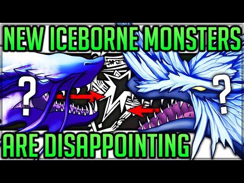 Iceborne New New Monsters are Disappointing - Monster Hunter World Iceborne! (Discussion/Fun) #mhw