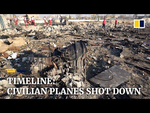 Iran air crash:
