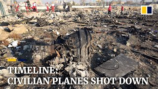Iran air crash: New chapter in tragic history of civilian planes shot down