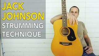 Percussive Acoustic Guitar Strumming (Jack Johnson Style)