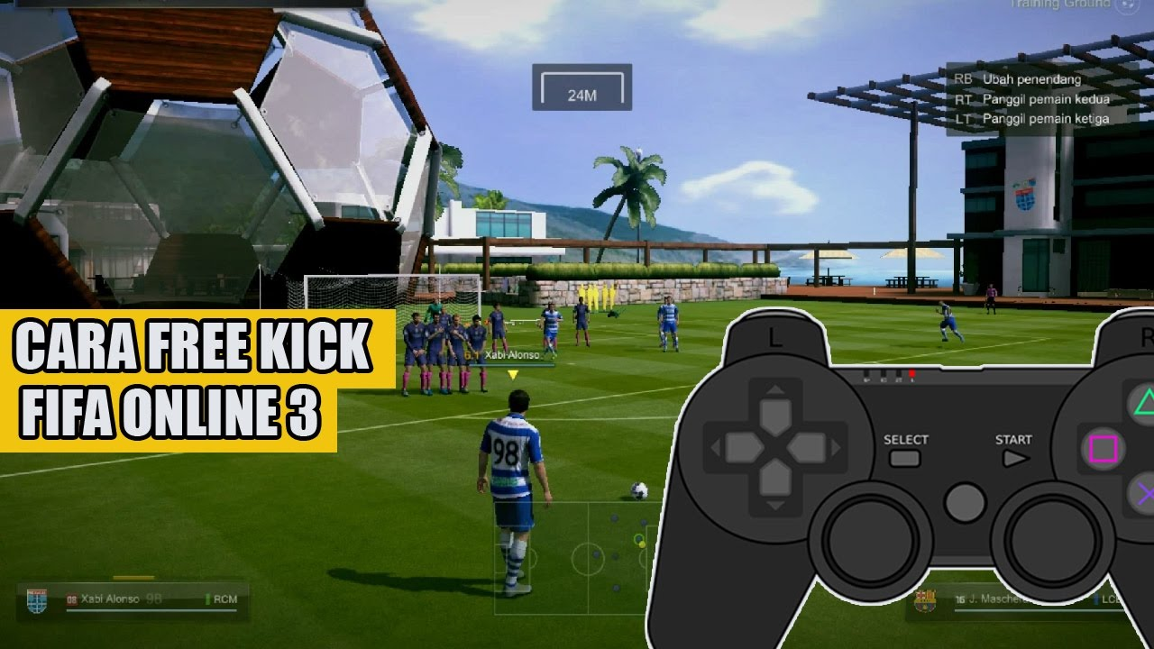 Cara Free Kick Fifa Online 3 Indonesia Youtube