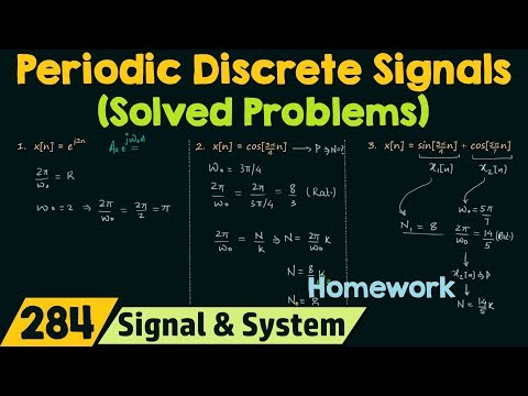 Periodic Discrete Time Signals (Solved Problems)