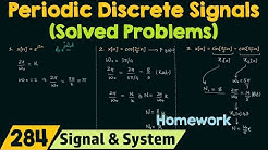 Periodic Discrete Time Signals (Solved Problems)