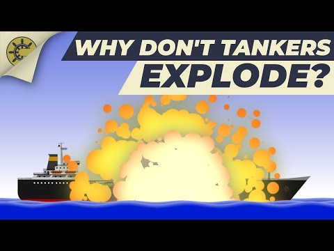 Why don't tankers explode? | Inert Gas System