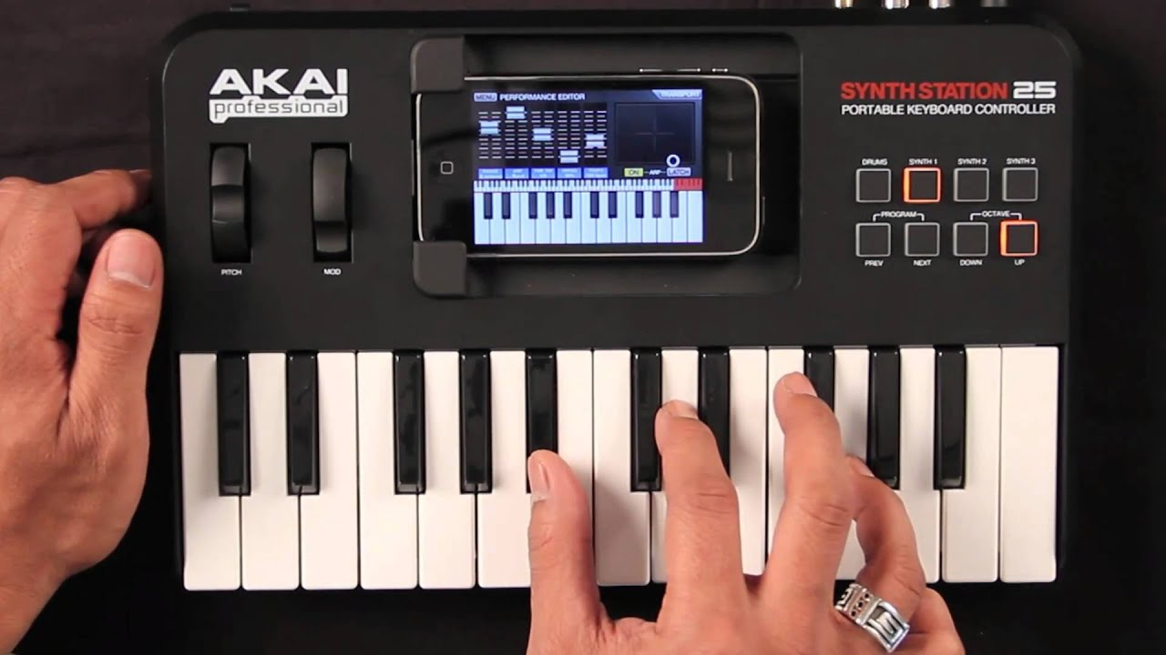 AKAI SYNTHSTATION 25 DOWNLOAD DRIVER