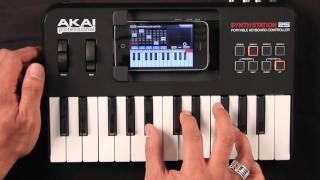 Akai Synthstation 25 iPhone/iPod Keyboard Review | UniqueSquared.com