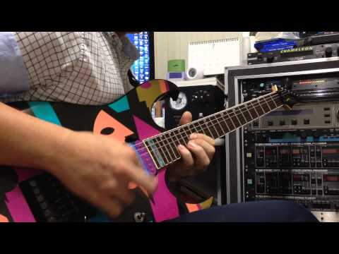 Dream Theater - Take The Time guitar cover.