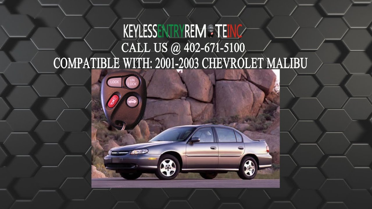 How to replace chevrolet malibu key fob battery 2001 2002 2003
