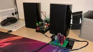 iII Raspberry Pi 2  Allo Boss 1.2  Allo Boss Volt Amp  Capacitance Multiplier