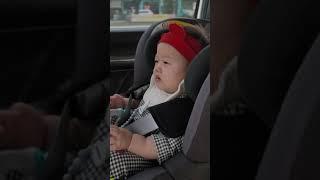 [8개월]카시트에서 혼자 잘노는 아기 쭌