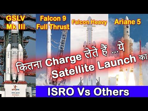 ISRO GSLV Mk 3 Fare against Falcon 9,Falcon Heavy,Ariane 5 | ISRO Vs Others | ISRO News in Hindi