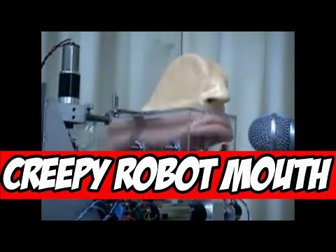 Creepy Robot Mouth Video