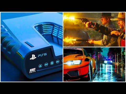 Про PlayStation 5, NFS Heat, RDR 2 на ПК, Chernobylite, PUBG Lite, Assassin's Creed Legion...
