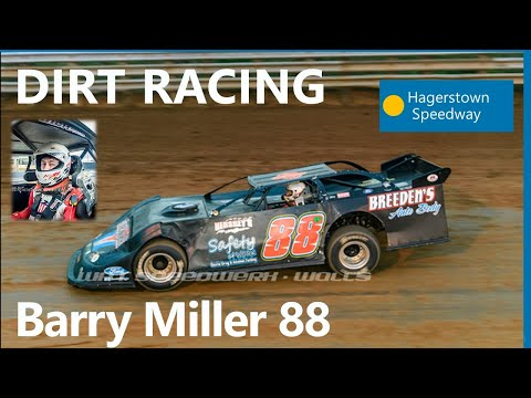 Barry Miller Warm-ups In LMS At Hagerstown Speedway On 3-30-19