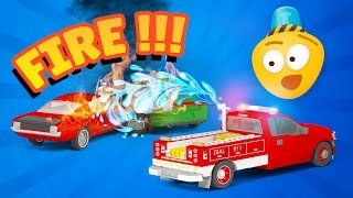 The Car Patrol : Fire Brigade & Police Cars | Emergency Vehicles Cartoons | Car Crash Accident