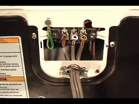 3 or 4 prongs cord Whirlpool dryers - YouTube Inglis Model Iex Rq Dryer Wiring Diagram on