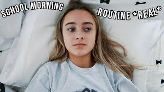 My *REAL* School Morning Routine
