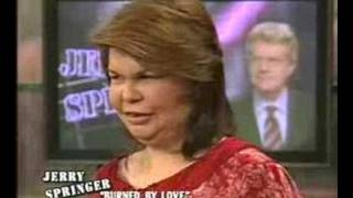 Jerry Springer - Retarded Redneck woman