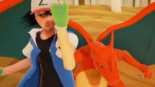Sundown Showdown Preview - [Charizard vs Blastoise - Ash vs Gary]
