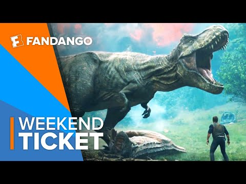 Now In Theaters: Jurassic World: Fallen Kingdom | Weekend Ticket