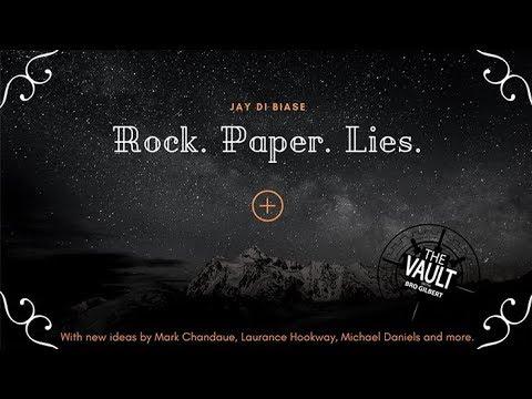 ROCK PAPER LIES PLUS by Jay Di Biase