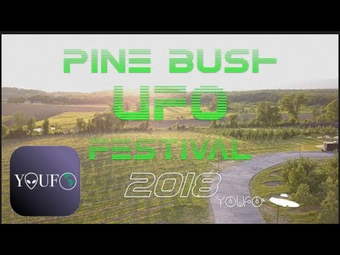 Crazy UFO Sighting Pine Bush, New York  -  YOUFO (2018HD)