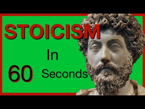 Stoicism In Less Than 60 Seconds | The Philosophy of Stoicism